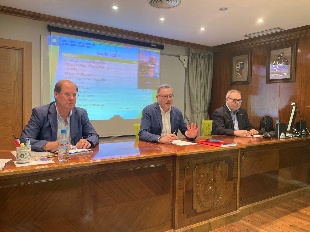 Colegio de Zaragoza Asamblea General noticias de seguros