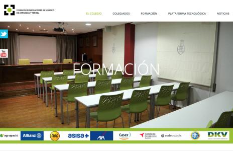 Colegio de Zaragoza formación YouTube noticias de seguros
