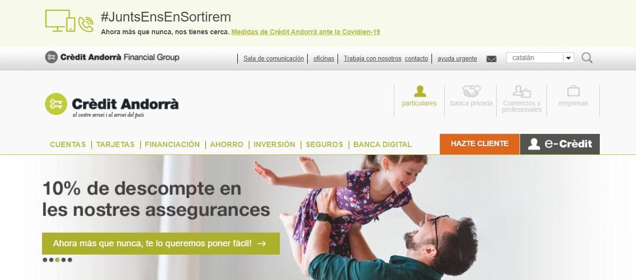 Crèdit Andorrà noticias de seguros