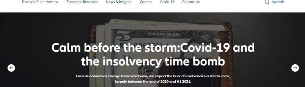 Euler Hermes insolvencias noticias de seguros