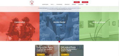 Fundación Aon nueva web noticias de seguros