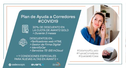 Codeoscopic plan de ayuda COVID-19 noticias de seguros