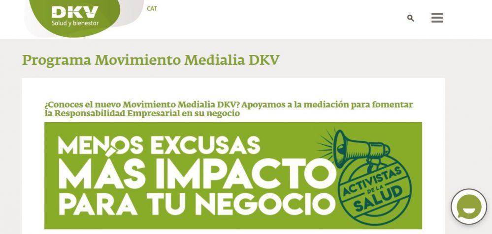El Movimiento Medialia y la Fundación Integralia DKV se unen para fomentar la inserción laboral de personas con discapacidad