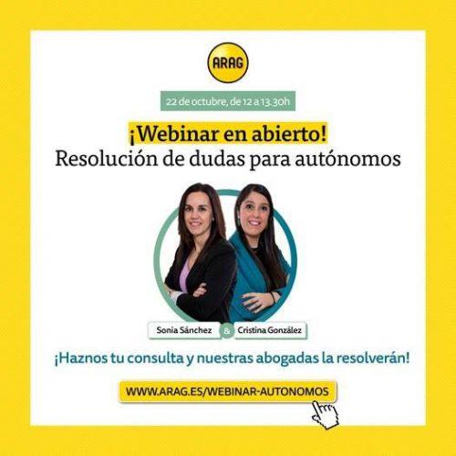 ARAG webinar autónomos noticias de seguros