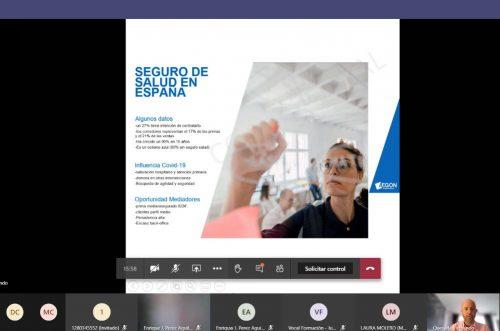 Jornada salud de Aegon y el Colegio de Granada noticias de seguros