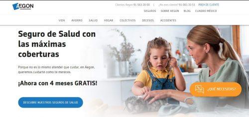 Aegon nueva web noticias de seguros