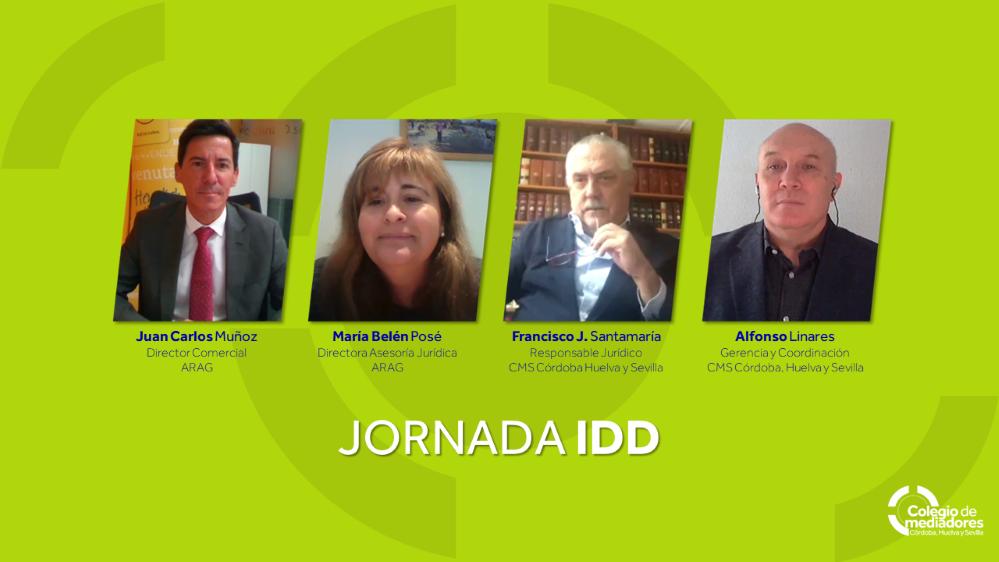 Jornada ARAG y Colegio Córdoba, Huelva y Sevilla noticias de seguros