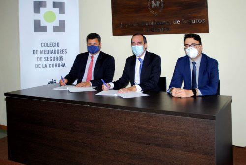 Allianz renueva con el Colegio de A Coruña noticias de seguros