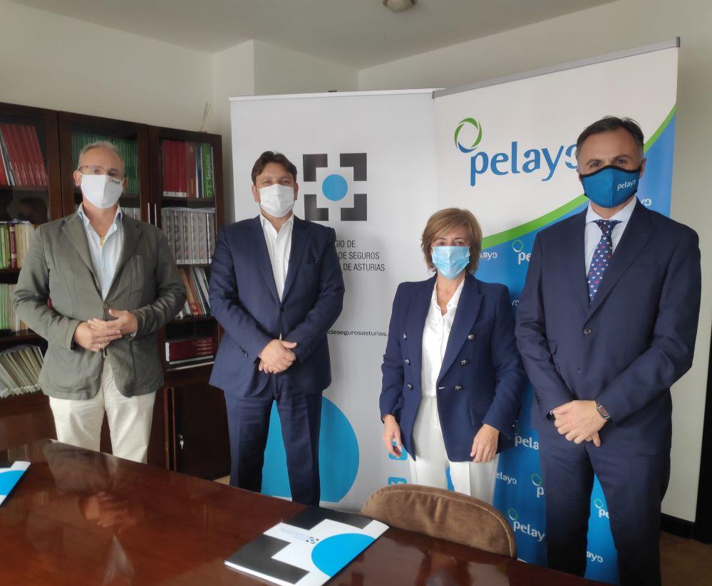 Pelayo renueva su acuerdo con el Colegio de Asturias noticias de seguros