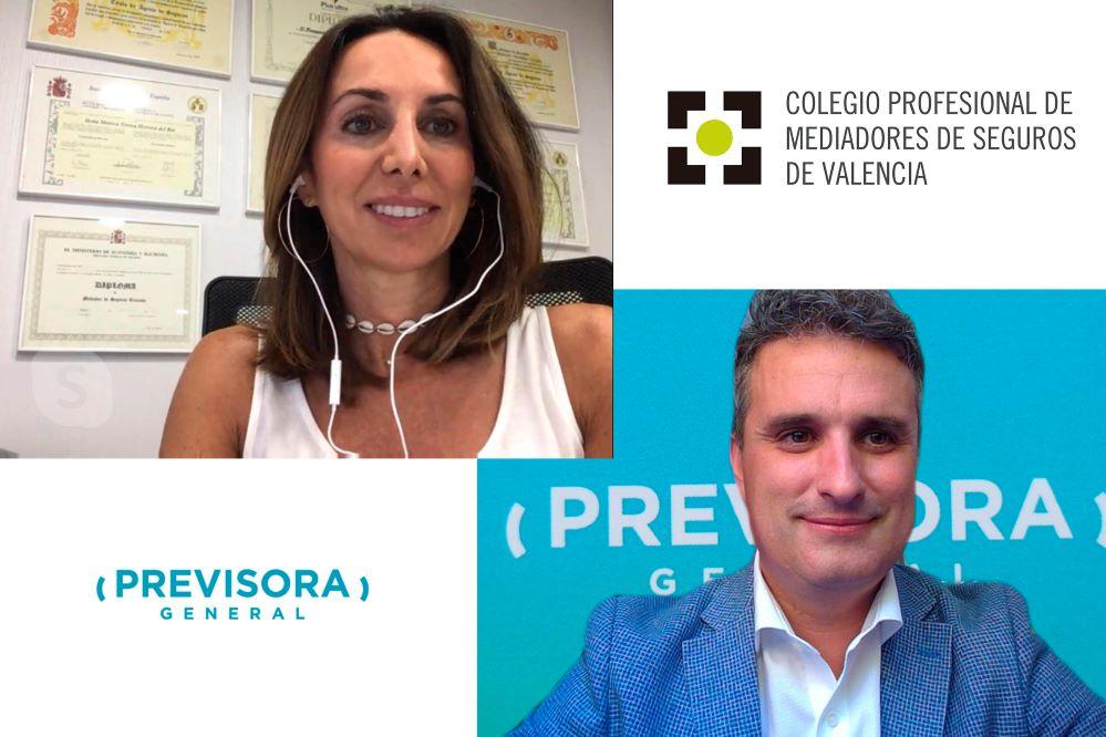 Previsora General renueva con el Colegio de Valencia noticias de seguros