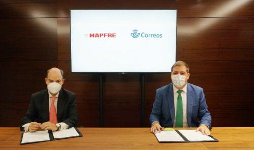 Mapfre acuerdo Correos noticias de seguros