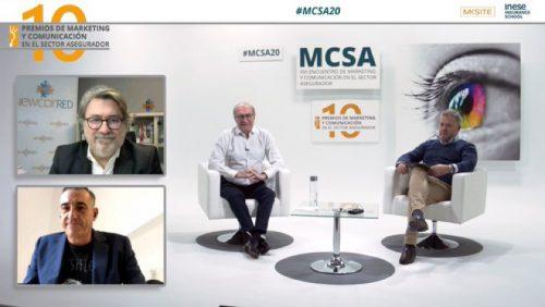 #MCSA20 Premios noticias de seguros