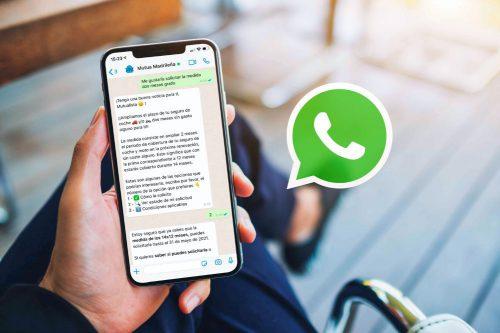 Mutua Madrileña WhatsApp noticias de seguros
