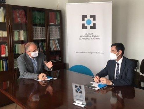 Plus Ultra renueva cone l Colegio de Asturias noticias de seguros