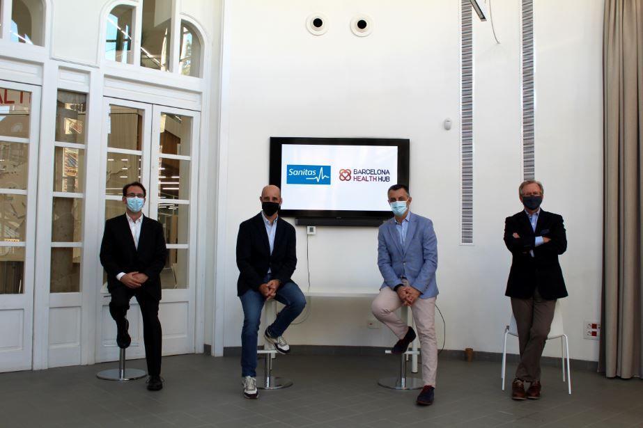 Sanitas y Barcelona Health Hub noticias de seguros