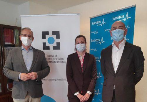 Sanitas acuerdo Colegio de Asturias noticias de seguros