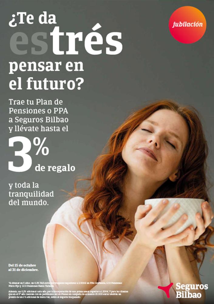 Seguros Bilbao campaña planes de pensiones noticias de seguros