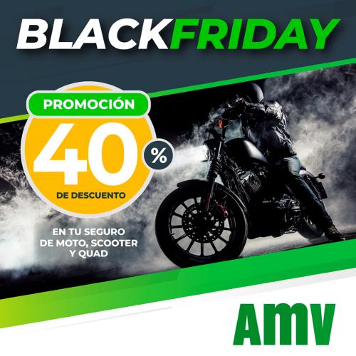 AMV promoción Black Friday noticias de seguros