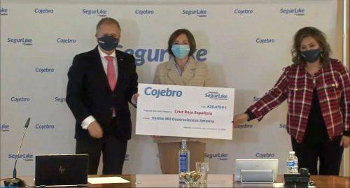 Cojebro entrega su premio solidario a Crus Roja noticias de seguros