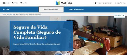 MetLife seguro Vida Completa noticias de seguros
