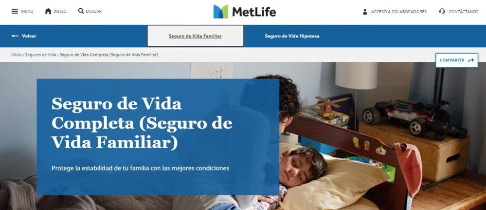 MetLife Vida Completa noticias de seguros