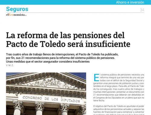 Reforma de las pensiones noticias de seguros