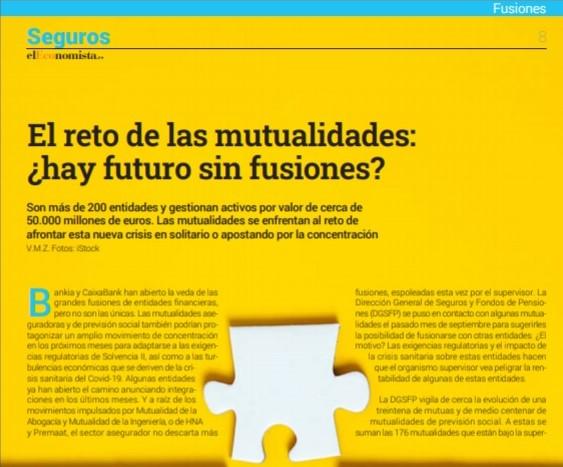 Mutualidades y fusiones noticias de seguros