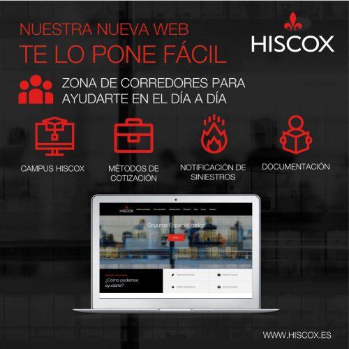 Hiscox nueva web noticias de seguros