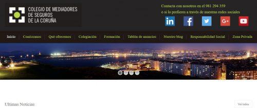 Colegio de A Coruña acuerdo Plus Ultra noticias de seguros