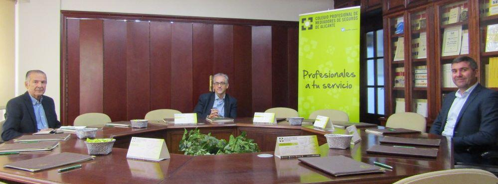 El Colegiod e Alicante renueva con FIATC. Noticias de seguros