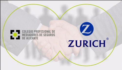 Colegio de Alicante acuerdo con Zurich noticias de seguros