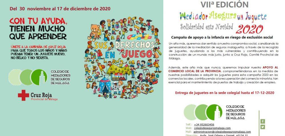 Colegio de Málaga VII Campaña Solidaria noticias de seguros