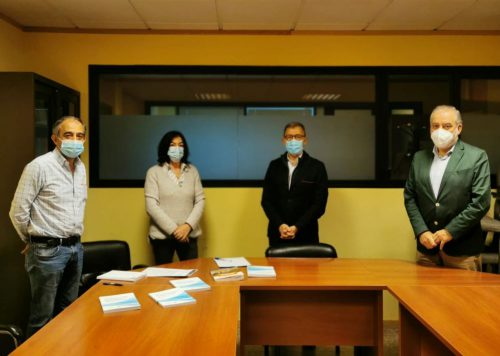 Fundación Inade visita UGT noticias de seguros