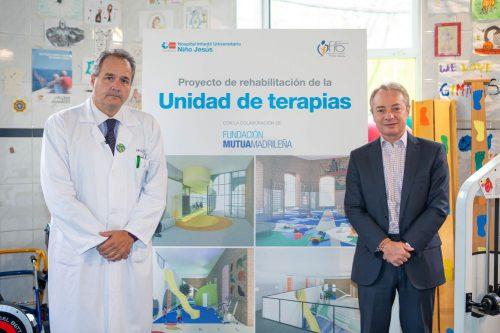 Fundación Mutua Madrileña en el Hospital Niño Jesús. Noticias de seguros.