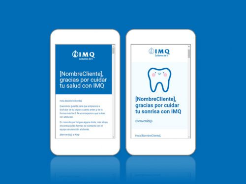 IMQ digitaliza su Welcome Pack. Noticias de seguros.