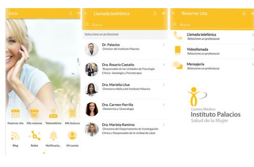 Instituto Palacios nueva app de telemedicina. Noticias de seguros.