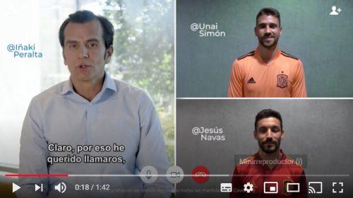 Sanitas y la selección de Fútbol. Noticias de seguros