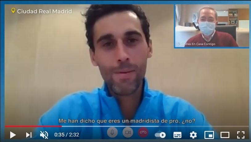 Sanitas Mayores Real Madrid noticias de seguros