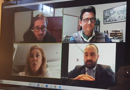 El Colegio de Málaga se reúne con el Grupo Popular. Noticias de seguros