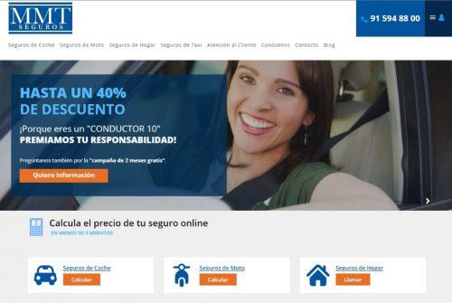 MMT Seguros estrena web. Noticias de seguros