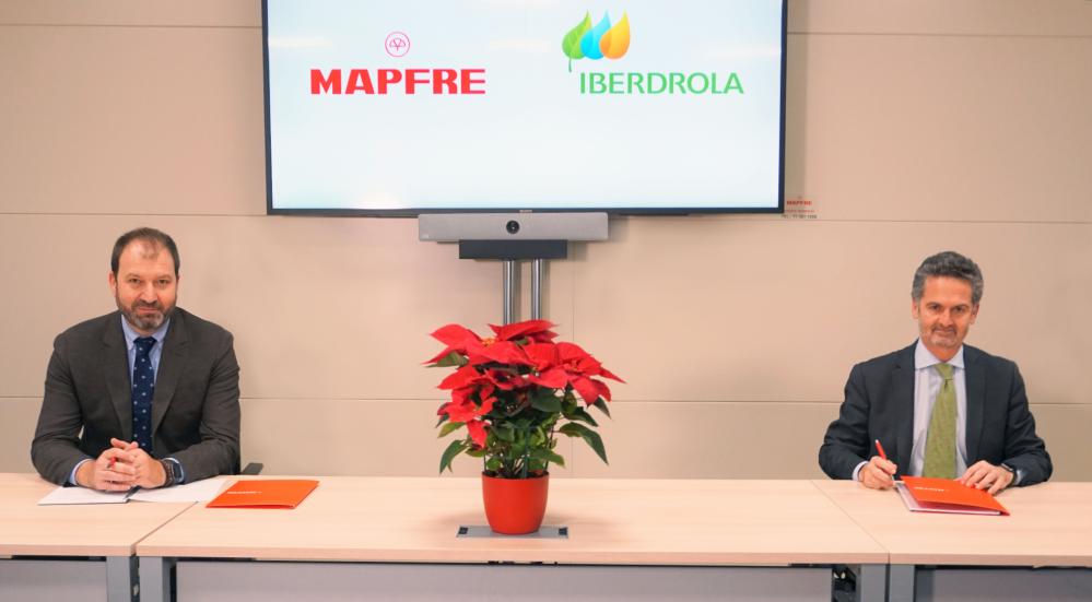 Mapfre firma un acuerdo con Iberdrola noticias de seguros