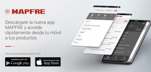 La nueva app de Mapfre. Noticias de seguros