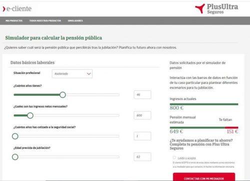 Plus Ultra plataforma clientes noticias de seguros