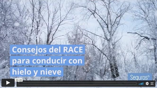 Conducir con hielo y nieve. Noticias de seguros