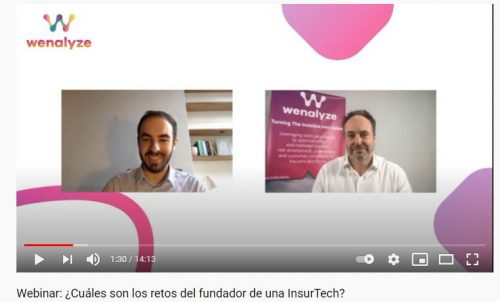 Wenalyze webinar Carlos Albo Noticias de seguros