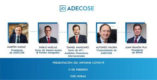 ADECOSE Informe COVID-19. Noticias de seguros