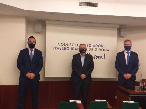 AXA renueva con el Colegiod e Girona. Noticias de seguros