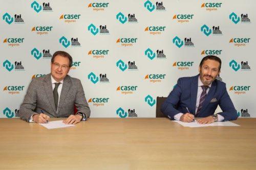 Acuerdo entre Caser y FAI. Noticias de seguros