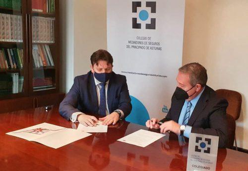 Acuerdo entre Mapfre y el Colegio de Asturias. Noticias de seguros