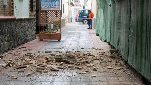Colegio de Granada. Terremotos. Noticias de seguros